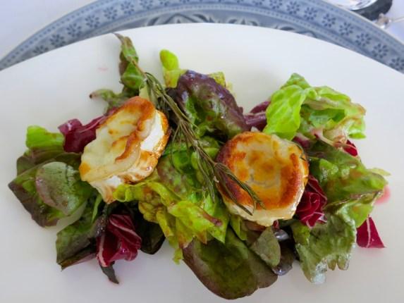 Ziegenkäse auf Salat – 06